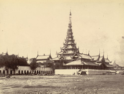 View of the Palace, [Mandalay], taken on the same day as the former photographs